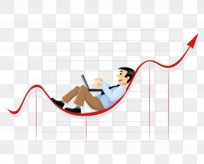 Vector Creative Financial Data Statistical Graphs - Businessperson Chart Clip Art PNG