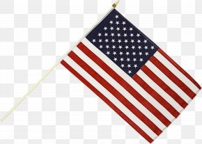Flag Day Usa Us Stick Flag - Usa Flag PNG