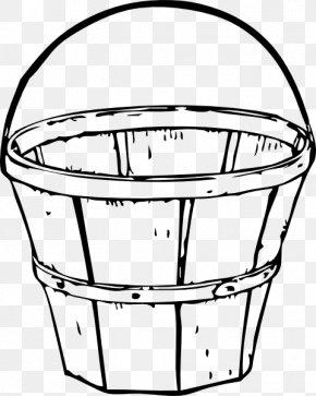 Water Bucket Cliparts - Basket Clip Art PNG