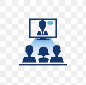 Videoconference Graphic - Bideokonferentzia Telephone Telephony Beeldtelefoon PNG