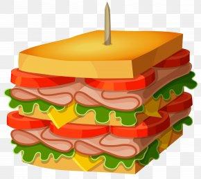 Huge Sandwich Vector Clipart Picture - Hamburger Pastrami Murder: Book One In The Darling Deli Series Delicatessen Amazon.com PNG