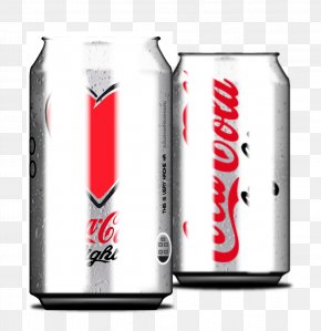 Vector Coca-Cola Cans - Coca-Cola Soft Drink Diet Coke Beverage Can PNG