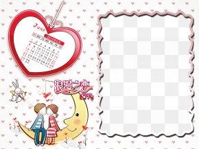 Cartoon Calendar Template - Cartoon Icon PNG