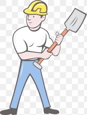 The Man With The Shovel - Construction Worker Royalty-free Clip Art PNG