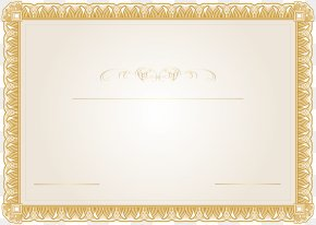 Certificate Template Clip Art Image - Dubai Frame Picture Frame Work Of Art Interior Design Services PNG
