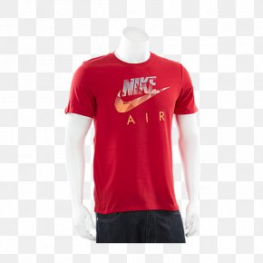 Nike T Shirt - T-shirt Nike Clothing Crew Neck PNG