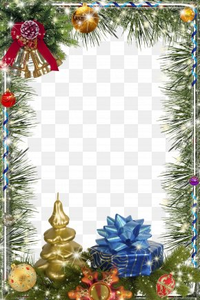 Christmas Frame Graphic Design Image - Christmas Picture Frame PNG