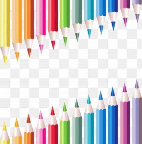 Transparent School Pencils Decoration - Student State School Education PNG