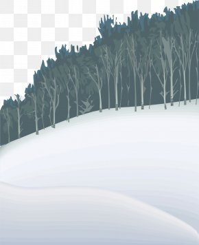Snowy Winter Snow Warm Winter Material - Winter Snow Euclidean Vector PNG