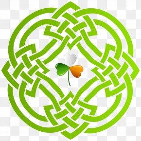 Celtic Shamrock Cliparts - Celtic Knot Celts Celtic Cross Clip Art PNG
