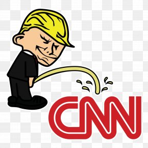 United States - Sticker United States News Media CNN Fake News PNG