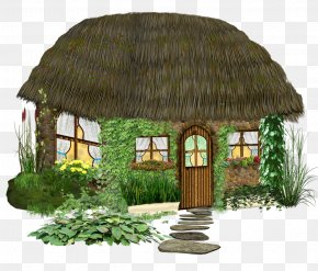 Cottage - Tree House Clip Art PNG