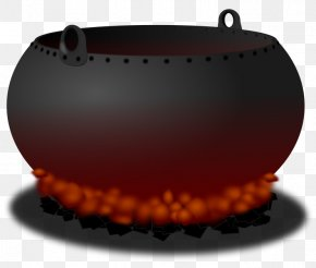 Halloween Witch Cauldron Clipart - Cauldron Witchcraft Clip Art PNG