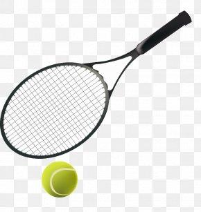 Green Tennis - Tennis Racket Sports Equipment Ball PNG