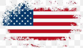 America Flag Clip Art Image - Flag Of The United States Independence Day Clip Art PNG