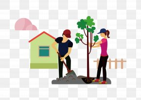 Tree Tree Characters Download - Cartoon Illustration PNG