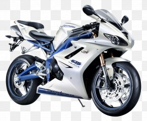 Triumph Daytona 675 White Motorcycle Bike - Triumph Motorcycles Ltd Triumph Daytona 675 Car Sport Bike PNG