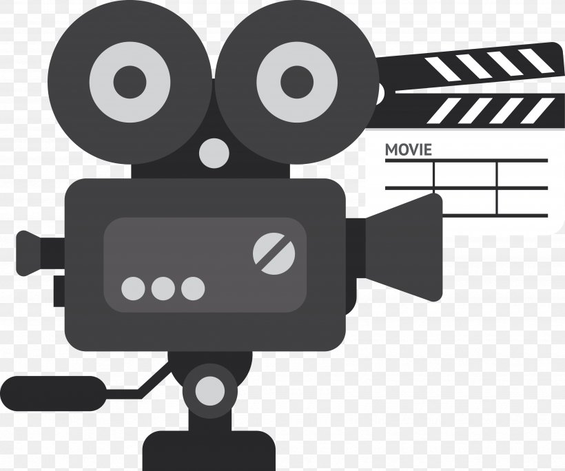 Video Camera Movie Projector, PNG, 3490x2913px, Video Camera, Black And White, Brand, Camera, Camera Accessory Download Free