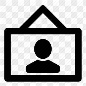 Icon Portrait Vector - Icon Design Desktop Wallpaper PNG
