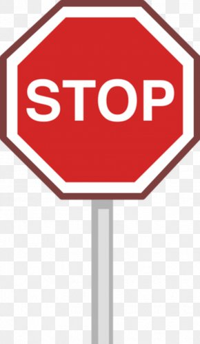 Sign Stop - Stop Sign Illustration PNG