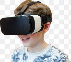 Virtual Reality - Goggles Virtual Reality Headset Headphones Hearing PNG