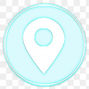 Oval Symbol - Aqua Turquoise Circle Turquoise Symbol PNG