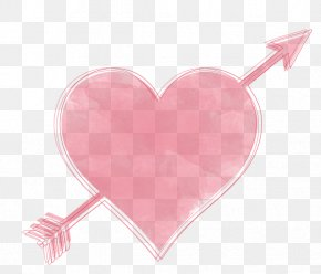 Watercolor Heart - Heart Valentine's Day Gift February 14 PNG