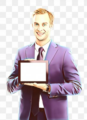 Business Tablet Computer - White-collar Worker Businessperson Technology Gadget Smile PNG