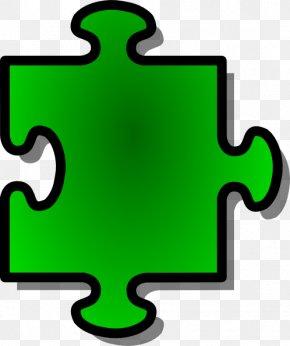Puzzle Pieces Outline - Jigsaw Puzzles Blue Free Content Clip Art PNG