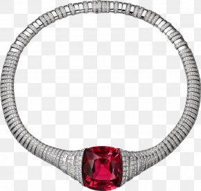 Ruby - Ruby Necklace Jewellery Gold Cartier PNG
