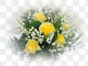 Lily Of The Valley - Lily Of The Valley Garden Roses Flower Bouquet Cut Flowers PNG
