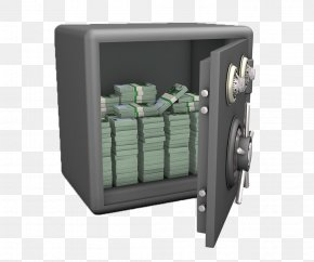 The Money In The Safe - Safe Deposit Box Download Money PNG