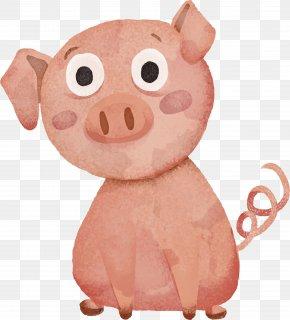 Idiotic Pig - Pig Vecteur Computer File PNG