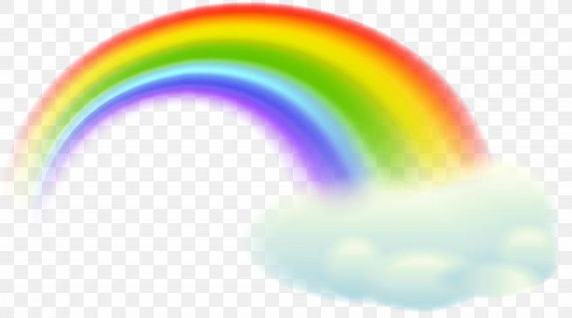 Rainbow Sky Orange Design Wallpaper Png 8000x4449px Rainbow