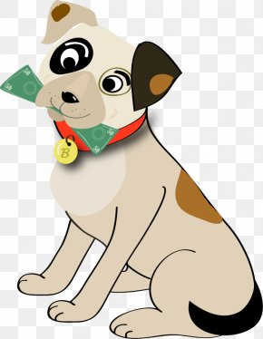 Slinky Dog - Dog Breed Puppy Clip Art Illustration PNG
