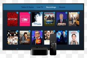 Tablo - Television Show Terrestrial Television Tablo Digital Video Recorders PNG