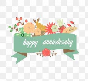 Happy Anniversary - Wedding Anniversary Greeting Card PNG