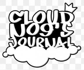 Cloud Brushes - Brand Human Behavior White Logo Clip Art PNG