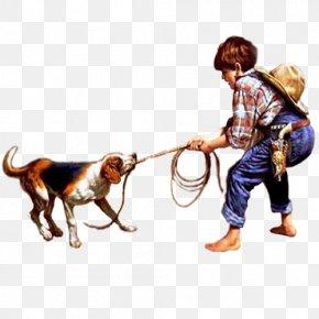 Children Playing - Dog Leash Canidae Carnivora Art PNG