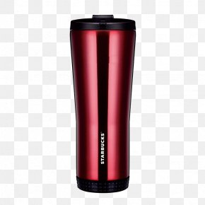 Red Starbucks Insulation Cup Material - Cup Vacuum Flask Starbucks PNG