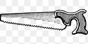 Hand Saw - Woodworking Tool Clip Art PNG
