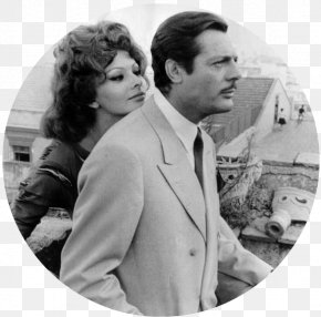 Italy - Sophia Loren Marcello Mastroianni Marriage Italian Style Italy Yesterday, Today And Tomorrow PNG