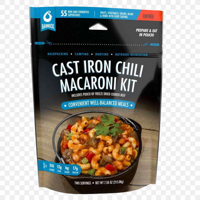 Camping Food Chili Mac Dish Chili Con Carne Vegetarian Cuisine
