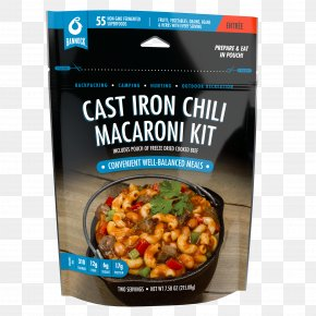 Pouch Design - Camping Food Chili Mac Dish Chili Con Carne Vegetarian Cuisine PNG