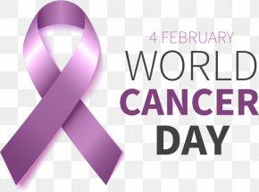 Vector Pink Ribbon - World Cancer Day Paras Hospitals 4 February Pink Ribbon PNG