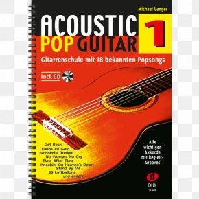Band Pop - Acoustic Pop Guitar: Einführung In Die Welt Des Fingerstyle. 2 Acoustic Pop Guitar Vol 1 / Langer Michael Book Gitarrenschule PNG