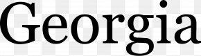 Calligraphy Text - Georgia Sans-serif Typeface Font PNG