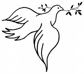 Dove Cliparts - United States Peace Symbols Doves As Symbols Clip Art PNG
