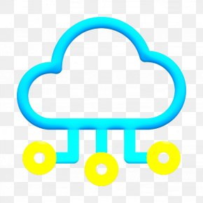 Turquoise Storage Icon - Big Data Icon Cloud Icon Computing Icon PNG