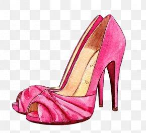 High-heeled Shoes - Shoe Fashion Illustration Drawing Designer Illustration PNG